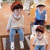 寶寶馬甲針織衫男童背心上衣外套潮韓版秋裝外穿 樂淘淘
