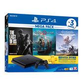 【PS4】「MEGA PACK」同捆組 極致黑 1TB主機