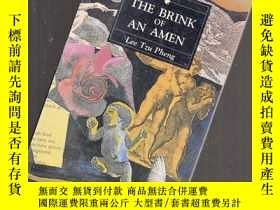 二手書博民逛書店THE罕見BRINK OF AN AMEN【052】Y10970