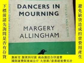 二手書博民逛書店DANCERS罕見IN MOURNING BY MARGERY