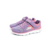 大童款 SKECHERS 81358LLVPK 輕量透氣 慢跑鞋《7+1童鞋》B948 紫色