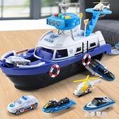 玩具車船模型消防警車智力開發3-4-6歲禮物8三四五周益智男孩 極簡雜貨