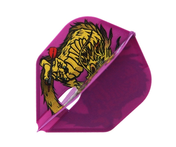 【L-Flight x DYNASTY】PRO 森窪龍己 Model Shape Purple 鏢翼 DARTS