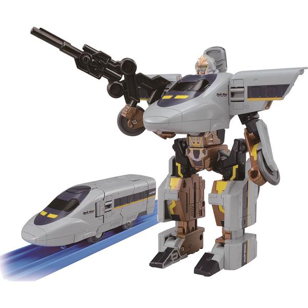 《 TOMICA 》新幹線迷你機器人 ROBOT 700 HIKARI╭★ JOYBUS玩具百貨