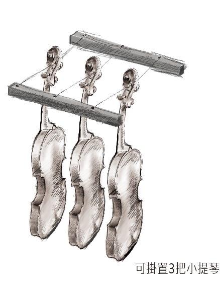 【NEW*新上市】Dr.Storage - 專業級小提琴專用防潮箱《AC-190M》
