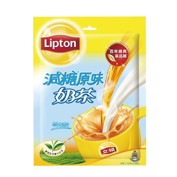 【立頓】原味減糖奶茶量販包 20X17G