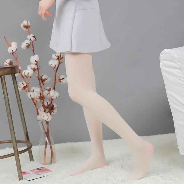 30D高密度抗起球微壓美腿襪(奶白色)