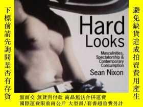 二手書博民逛書店Hard罕見Looks: Masculinities Spectatorship And Contemporary