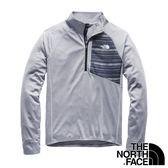【THE NORTH FACE 美國】男 立領保暖中層衣『中灰』NF0A3F4Q 戶外 登山 保暖 衛生衣 長袖 保暖衣