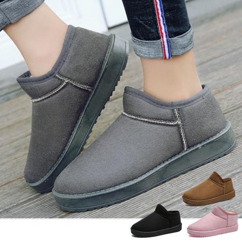 女款 暖冬百搭必備多色舒適內刷毛 短筒雪靴 59鞋廊