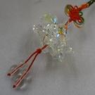 【Ruby工作坊】 NO.61WN切割白水晶觀音蓮花球吊飾(加持祈福)無觀音