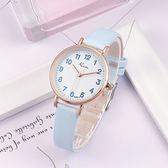 兒童手錶 簡約中小學生手錶女韓版時尚潮流兒童手錶女孩男生防水電子石英錶