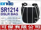 可傑有限公司 全新 比利時 Orkio SR1214 黑色 相機包 側背 攝影包 小魚包 1機2鏡 GF5 GX1