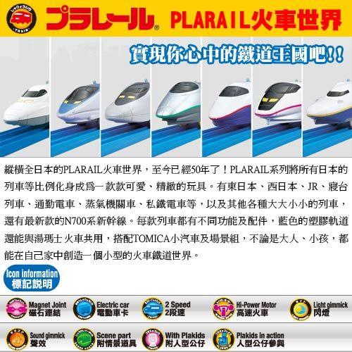 火車軌道配件 R-09 複線外側曲軌 (4入) (PLARAIL鐵道王國) 11261