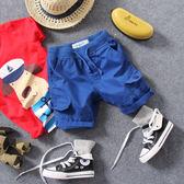2018夏季新款兒童工裝多口袋短褲男童女童寶