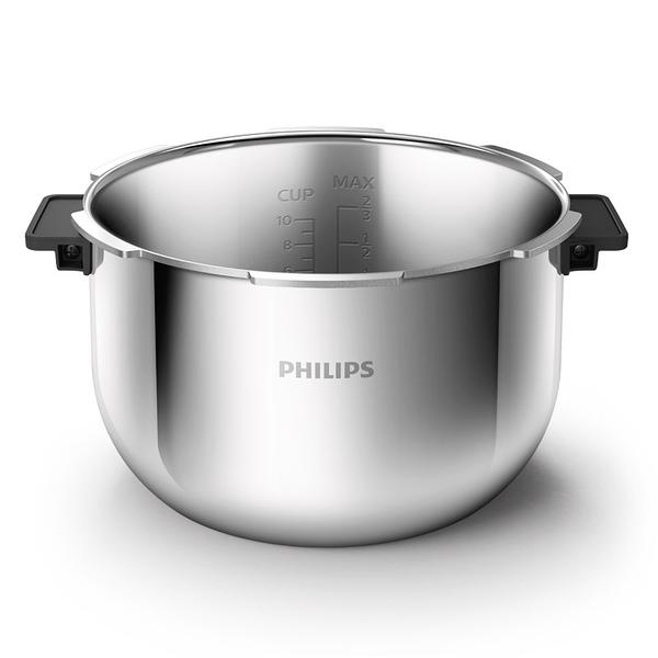 飛利浦PHILIPS萬用鍋(HD2195)專用304不鏽鋼內鍋 5L(HD2779)