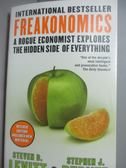 【書寶二手書T8/原文書_LEH】Freakonomics-A Rogue Economist Explores…_St