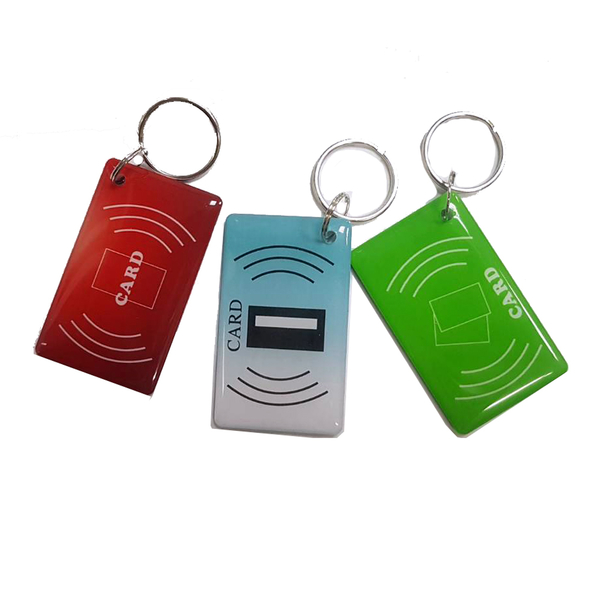 LY003 雙面滴膠IC卡 方型IC鑰匙扣卡 感應卡 紐扣卡 複旦IC卡 IC異型卡 門禁卡考勤卡 電子鎖