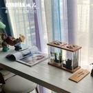 泰國斗魚缸斗魚雙缸微景觀桌面擺件超白玻璃小魚缸辦公桌電視柜 小山好物