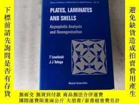 二手書博民逛書店Plates,罕見Laminates and Shells【大32開.精裝】Y10249 T Lewinski