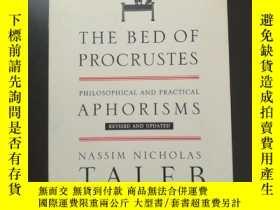 二手書博民逛書店THE罕見BED OF PROCRUSTES: PHILOSOPHICAL AND PRACTICAL APHOR