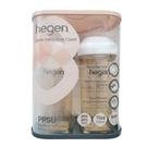 新加坡品牌hegen 金色奇蹟PPSU多功能方圓型寬口奶瓶雙瓶組 330ml 88740