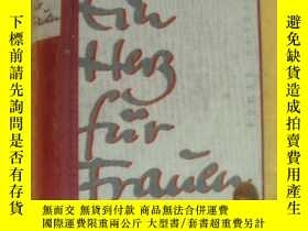 二手書博民逛書店Ein罕見Herz fur Frauen 德文原版 精裝24開厚本Y164736 WILLI HEINRICH