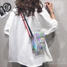 網紅小包包女手機包夏季女包新款斜挎包時尚洋氣斜跨后背包潮 小時光生活館
