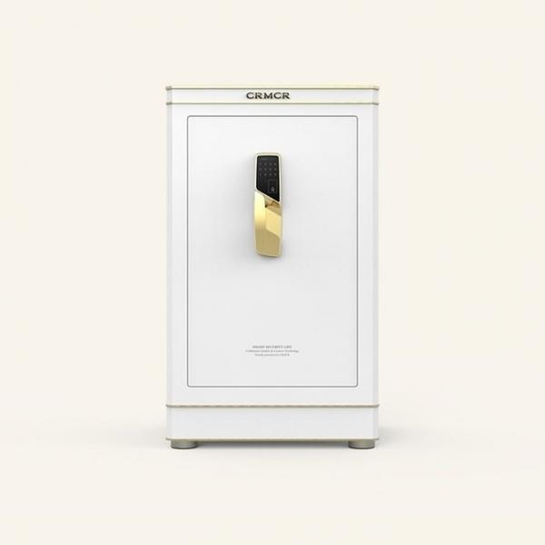 聚富 凡爾賽Versailles E120珍珠白 頂級指紋密碼保險箱