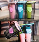 水壺 Ymer冷水壺套裝大容量塑料涼水壺豆漿果汁花茶壺帶蓋水杯水具套裝 娜娜小屋