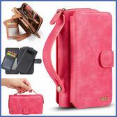 三星 S10 S10+ S10e Note9 S9 S9 Plus 手提拉鍊包 手機皮套 手機殼 插卡 錢包 手提 保護套