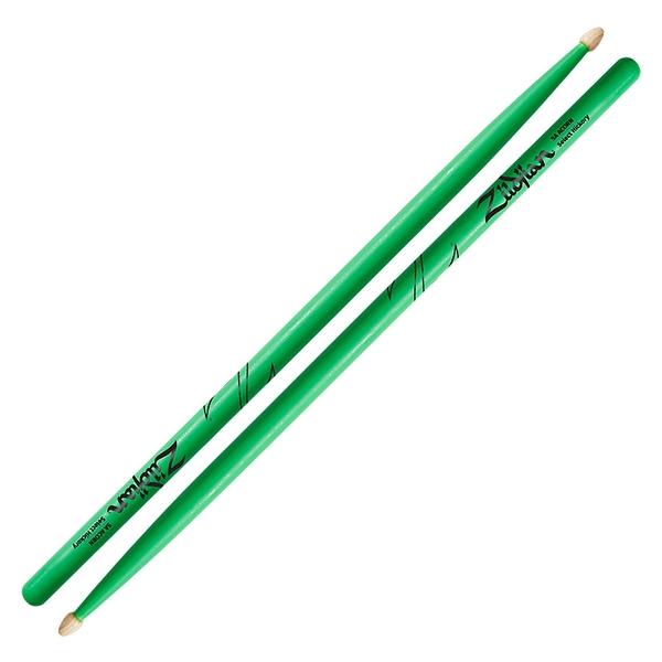 小叮噹的店 ZILDJIAN Z5AACDGG 5A 綠色鼓棒 山胡桃木
