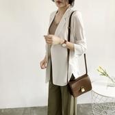 LB22韓版19春夏裝新款寬鬆七分袖中長款雪紡薄西裝外套女防曬衣