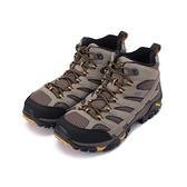 MERRELL MOAB 2 MID GORE TEX 防水寬楦登山鞋棕ML 06057W