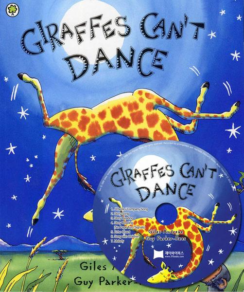 【麥克書店】GIRAFFES CAN'T DANCE  /英文繪本+CD (JY版)