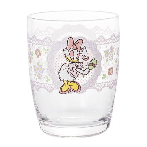 《石塚硝子》迪士尼浪漫黛西日本製彩繪玻璃杯-265ml★funbox生活用品★_IA01719