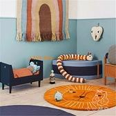 【直径80CM 卡通圆形地毯 可机洗 】加厚防摔地垫床边儿童房地毯家用【少女顏究院】
