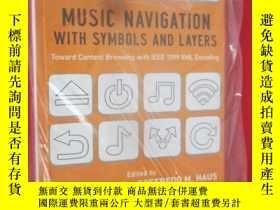 二手書博民逛書店Music罕見Navigation with Symbols a