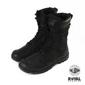 Palladium Tactical 黑色 尼龍 防水 戰鬥靴 休閒鞋 男女款 NO.B1109【新竹皇家 76479-008】