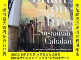 二手書博民逛書店brain罕見on fire Susannah CahalanY