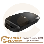 ◎相機專家◎ 現貨 Sandisk CF express 讀卡機 Type B USB-C SDDR-F451 公司貨