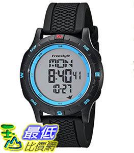 [106美國直購] Freestyle 手錶 Unisex 101157 B007K3TQWI Navigator Watch with Black Silicone Band