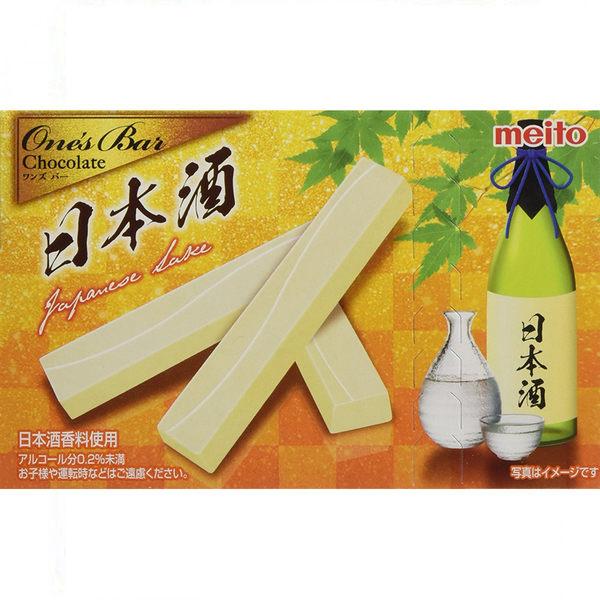 萊姆酒的香氣 葡萄乾的層次【名糖產業】日本清酒巧克力棒