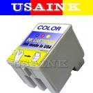 USAINK ~ EPSON T039 彩色相容墨水匣   熱賣 Stylus Color - C41 / C43/ C45 / CX1500