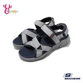 Skechers涼鞋 男涼鞋 運動涼鞋 EQUALIZER 4 SANDAL 健走涼鞋 柔軟Q彈 U8212#灰色◆OSOME奧森鞋業
