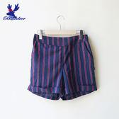 American Bluedeer-率性條紋褲