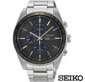 SEIKO 精工 太陽能 V176-0AZ0H (SSC725J1) 三眼計時 男錶/44mm