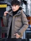 男士棉衣2020冬季新款韓版潮流短款羽絨棉服帥氣襖子棉襖厚外套男 黛尼時尚精品