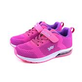 G.P(GOLD PIGEON) 運動鞋 魔鬼氈 桃紅色 童鞋 P6923B-44 no367 20~23cm