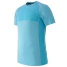 New Balance M4M 男裝 短袖 休閒 慢跑 排汗 透氣 反光 藍【運動世界】MT61019BIH